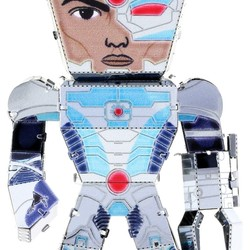 Metal Earth Legends - Justice League - Cyborg