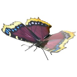 Metal Earth - Butterflies - Mourning Cloak Butterfly - Color