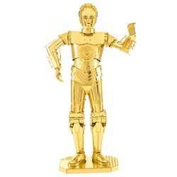 Metal Earth - Star Wars - Gold C-3PO
