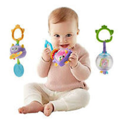Mini Monsters Rattle Assorted Styles