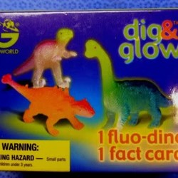 Dig & Glow - Mini Dinos - Blind Bag