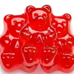 Black Cherry Gummi Bears - 5 lb. Bag