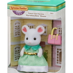 Town Girl Stephanie Marshmallow Mouse