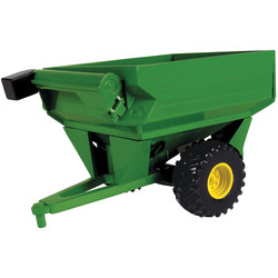 "Collect N' Play - 3"" Green Mini Grain Cart"