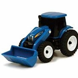 """Collect N' Play - 3"""" New Holland Tractor with Loader"""