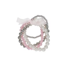 Pearly to Wed Bracelet Set (4pc)