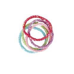 Tints Tones Rainbow Bracelet Set (5pc)
