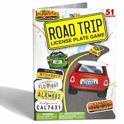 Imaginetics Road Trip! License Plate Game