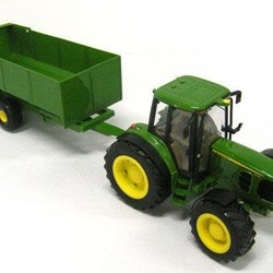 1:16 Big Farm John Deere 6930 with Dump Wagon