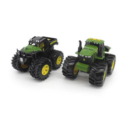 John Deere Monster Treads Lights And Sounds 2 Pack