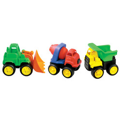 Little Tuffies Vehicle Set