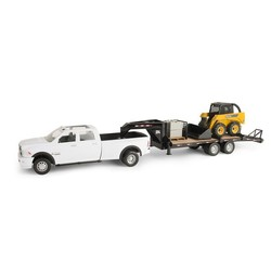 1:16 Big Farm John Deere Chevrolet Silverado 3500 Construction Set