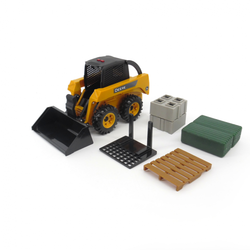 1:16 Big Farm John Deere Skid Loader Set