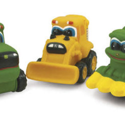"3"" Johnny Tractor And Friends Assorted Styles"
