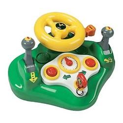 John Deere Toy Busy Driver Wheel