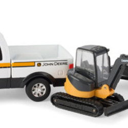 "1:32 8"" John Deere Construction Vehicle Set"