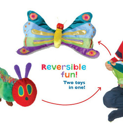 Eric Carle Reversible Caterpillar / Butterfly Plush