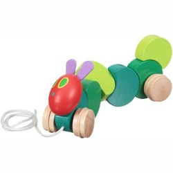 Eric Carle -  Wood Pull Toy