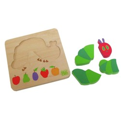 Eric Carle - 4 pc. Puzzle - Caterpillar