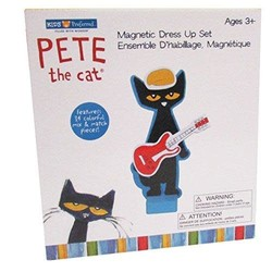 Pete The Cat-Wood Magnetic Dress-Up Set 34 pcs