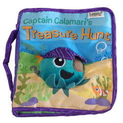 Captain Calamari's Treasure Hunt Soft Book