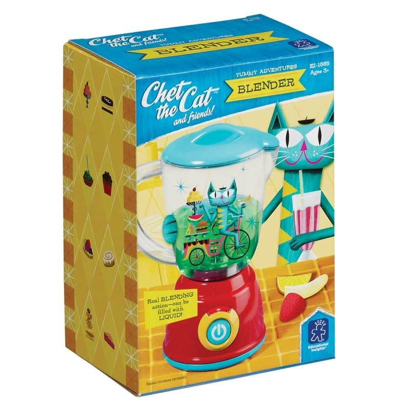 Learning Resources Chet The Cat- Blender