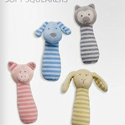 Soft Squeakers Assortment