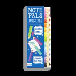 Note Pals - Colorful Pencils