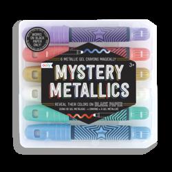 Mystery Metallics Gel Crayons