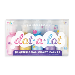 Dot-A-Lot Dimesnional Craft Paint - Pearlescent