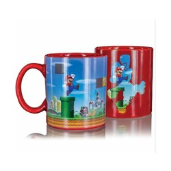 Super Mario Bros Heat Changing Mug - 3D