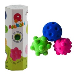 "2.5"" Small Fidget Balls 3 Pack in Box"