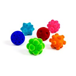 "3"" Medium Balls Assorted Styles"