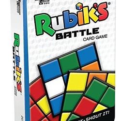 Rubik's Battle Card Game Tuck Box