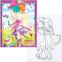 Style Princess Coloring Book