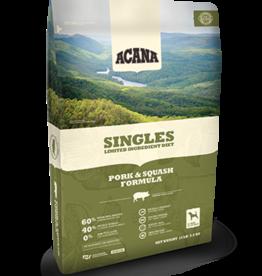 Acana Acana Singles Pork & Squash 4.5, 13, & 25#