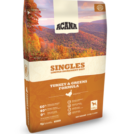 Acana Acana Singles Turkey & Greens 4.5, 13, 25#