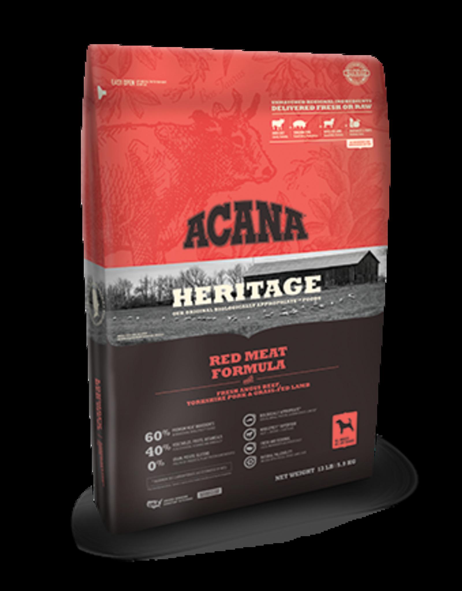 Acana Acana Heritage Dog Food Red Meats