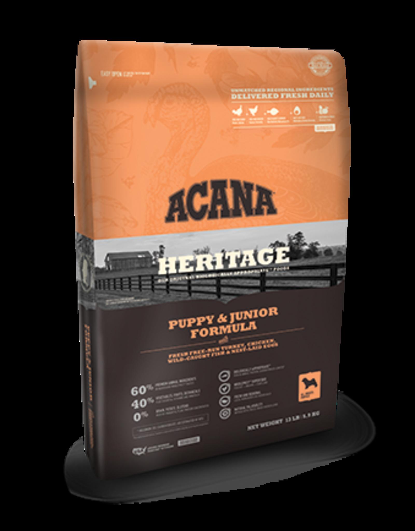 Acana Acana Heritage Dog Food Puppy & Junior