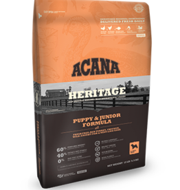 Acana Acana Heritage Puppy & Junior 4.5, 13, 25#