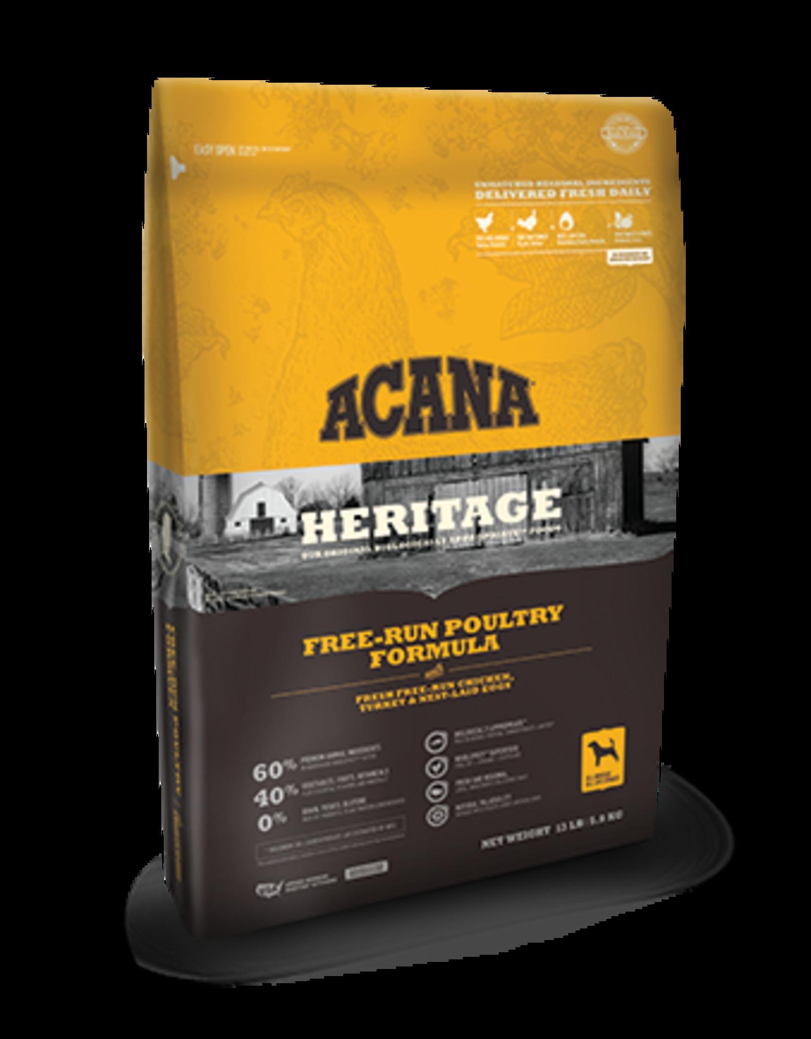 Acana Acana Heritage Dog Food Free-Run Poultry