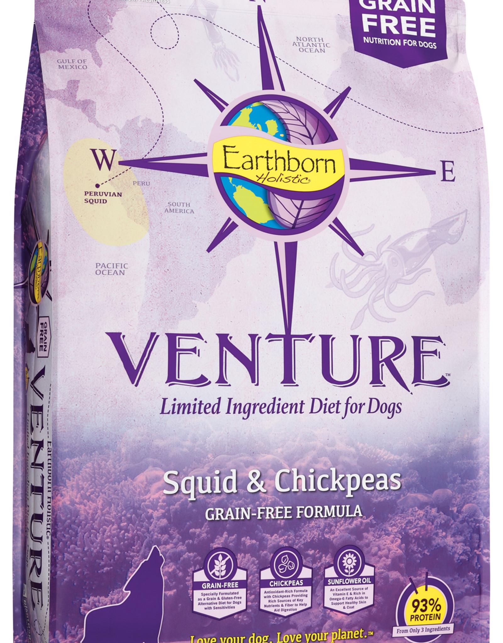 Earthborn Earthborn Venture Dog Food Squid & Chickpeas