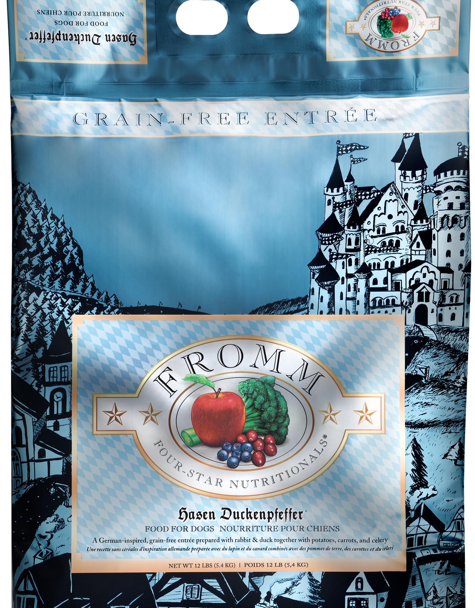 Fromm Fromm Four Star GF Dog Hasen Duckenpfeffer