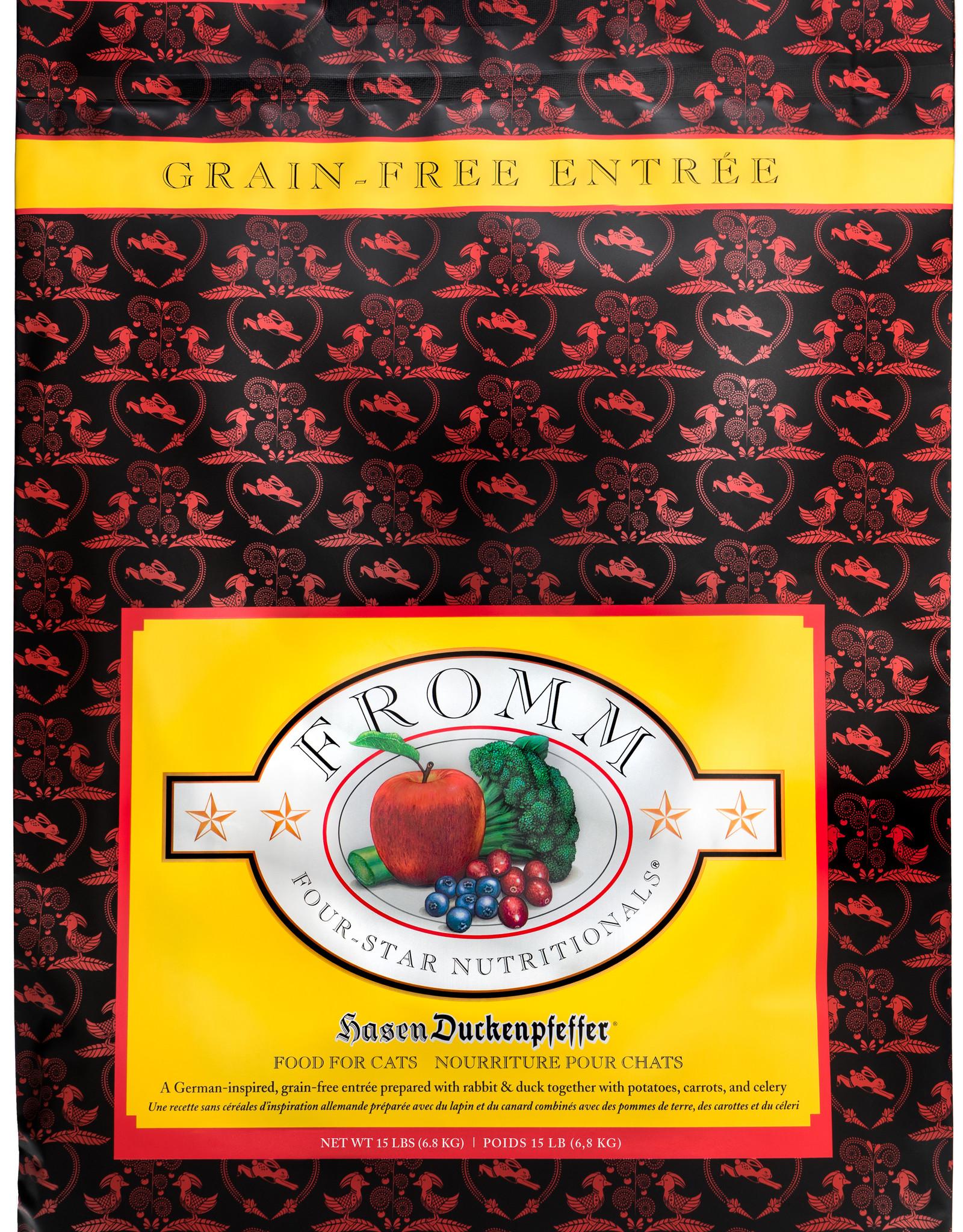 Fromm Fromm Four Star GF Cat Food Hasen Duckenpfeffer