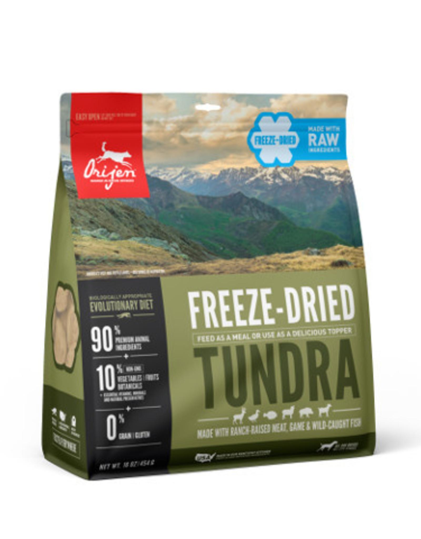 Orijen Orijen Dog Food Freeze Dried Tundra