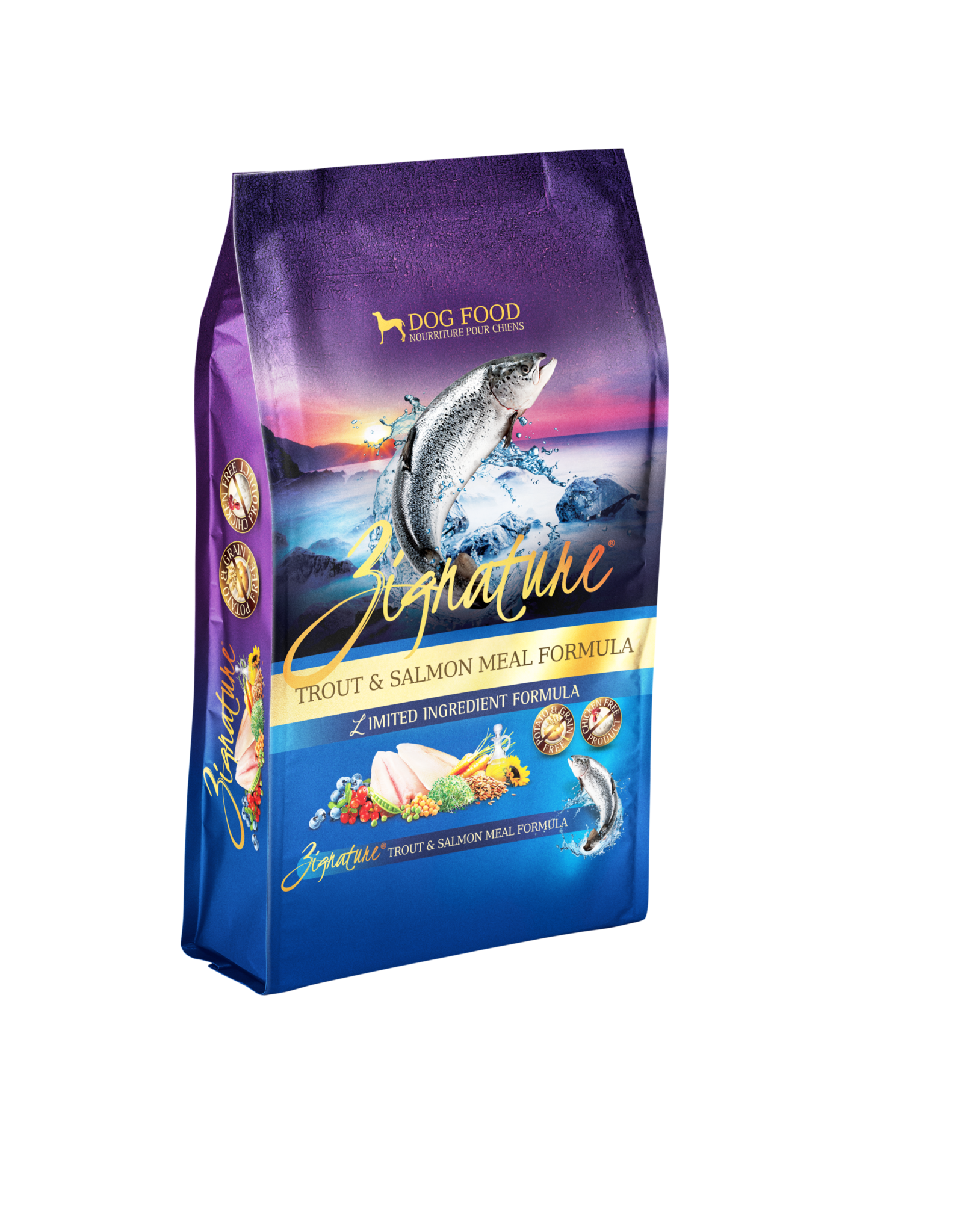 Zignature Zignature Dog Food Trout & Salmon Meal Formula