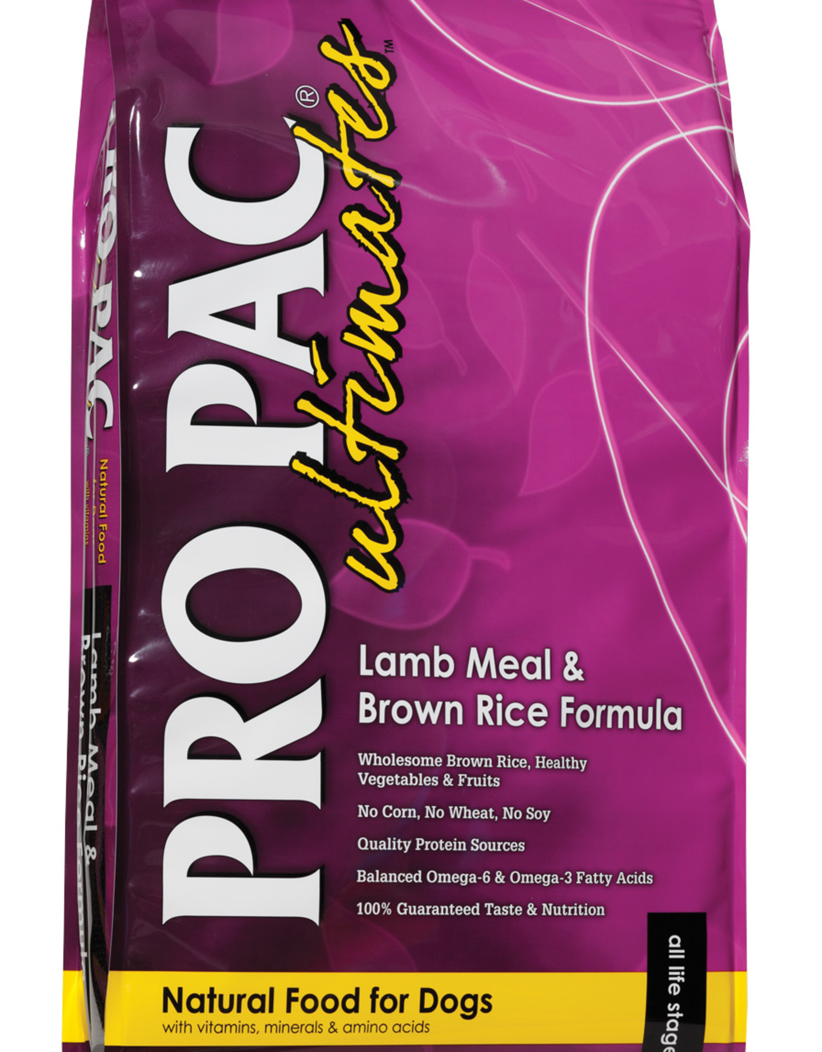 PRO PAC Ultimates PRO PAC Ultimates Dog Food Lamb Meal & Brown rice