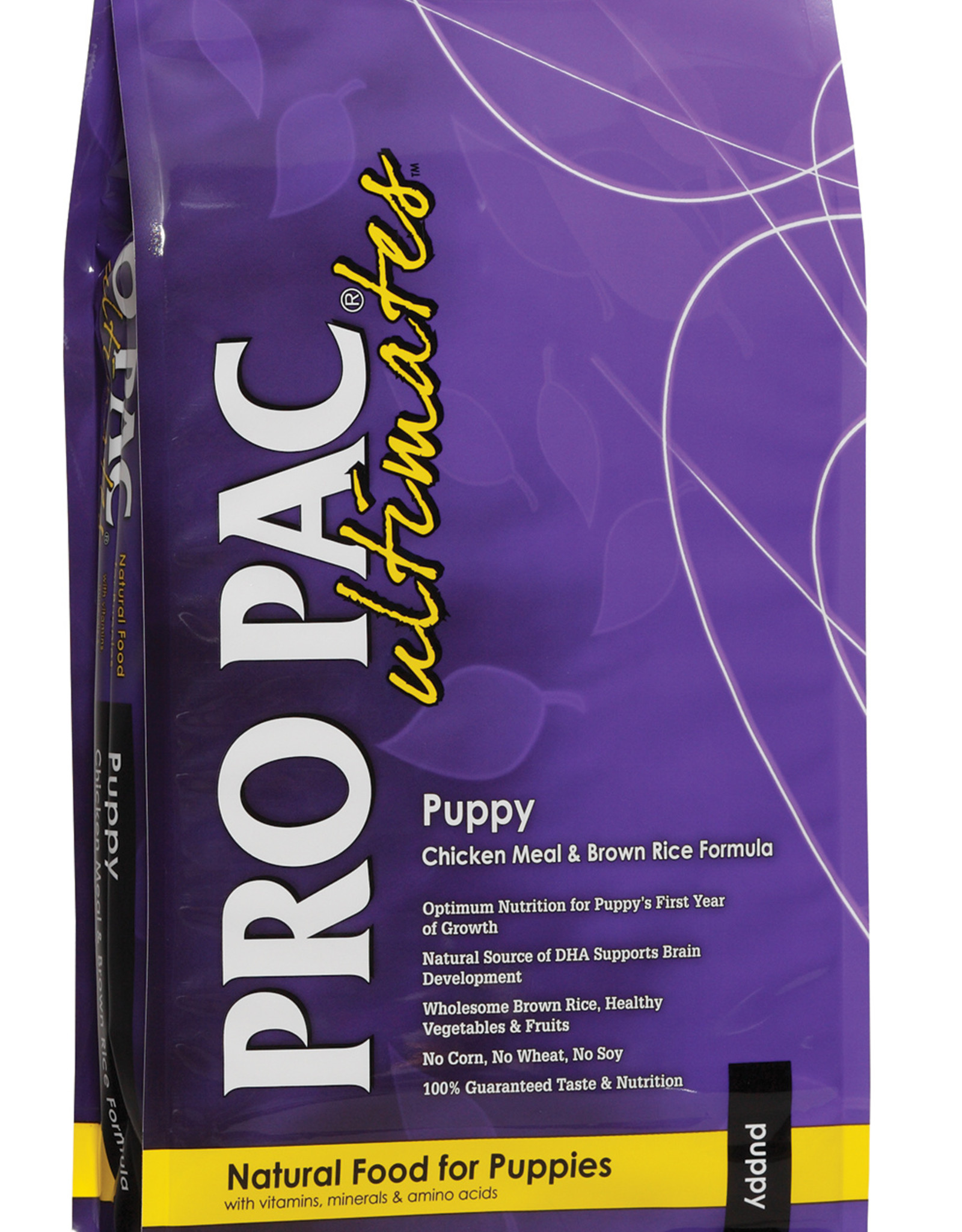 PRO PAC Ultimates PRO PAC Ultimates Dog Food Puppy Chicken Meal & Brown Rice