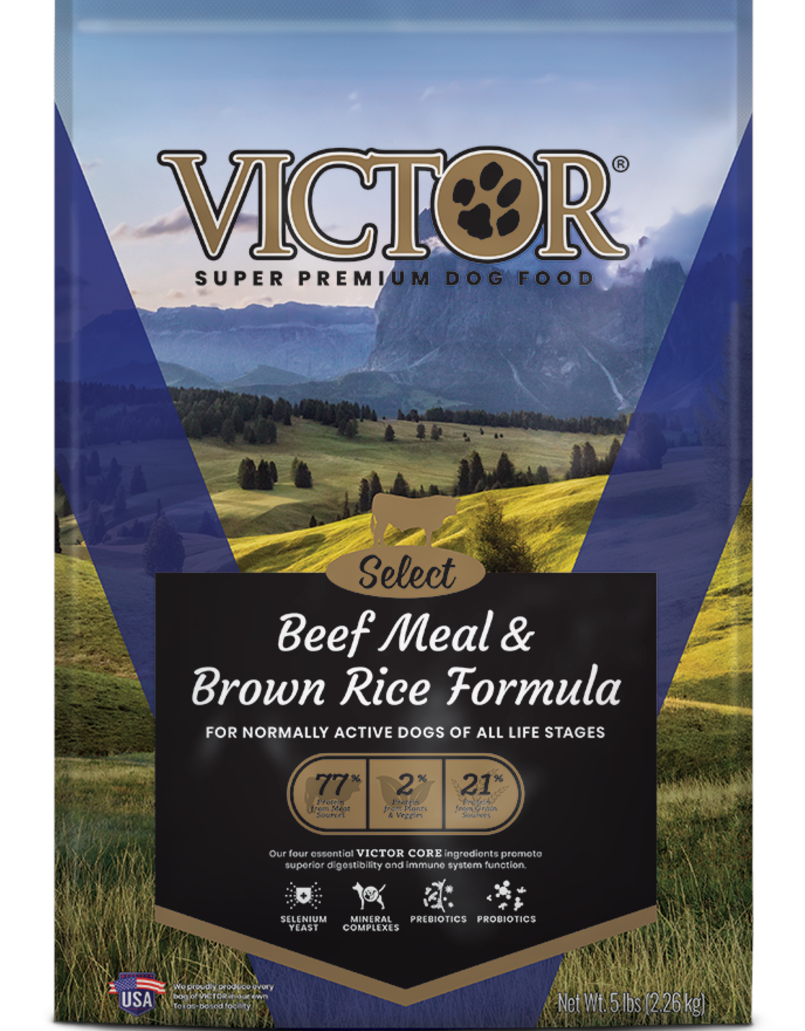 Victor Victor Dog Food Beef Meal & Brown Rice