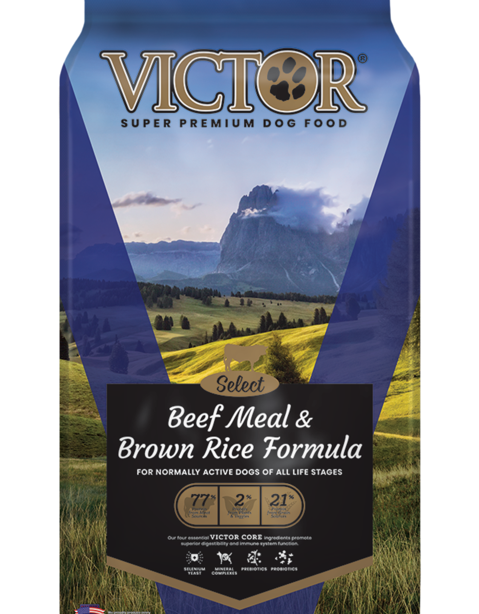 Victor Victor Dog Food Beef Meal & Brown Rice
